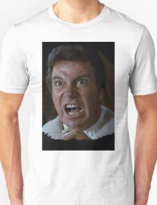 William Shatner Captain Kirk / Khan digital painting Unisex T-Shirt