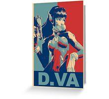 OVERWATCH DVA Greeting Card
