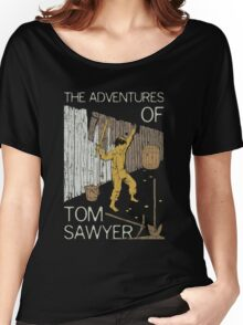 Books Collection: Tom Sawyer Women's Relaxed Fit T-Shirt