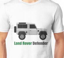 Land Rover Defender side (2 door) Unisex T-Shirt