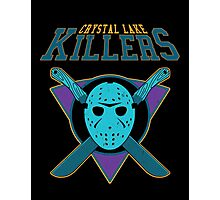 Crystal Lake Killers (NES Variant) Photographic Print