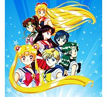 Sailor Moon S Team Version 2 Photographic Print