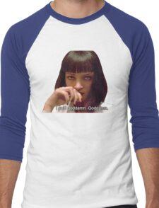 Pulp Fiction - Mia Wallace Face Men's Baseball ¾ T-Shirt