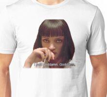 Pulp Fiction - Mia Wallace Face Unisex T-Shirt