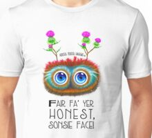 Scottish Haggis, Sonsie Face Unisex T-Shirt