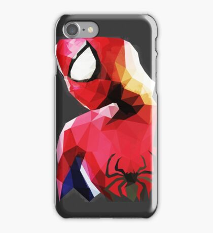 Low Poly Spider-Man iPhone Case/Skin
