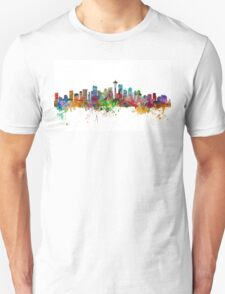 Seattle Washington Skyline Unisex T-Shirt
