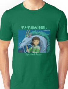 Spirited Away -  Haku and Chihiro - (Designs4You) - Studio Ghibli Unisex T-Shirt