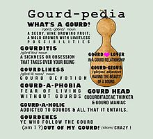 Gourd-pedia What's a Gourd Totes and Pillows Color 1 by Subwaysign