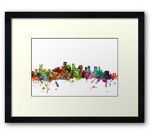 Boston Massachusetts Skyline Framed Print