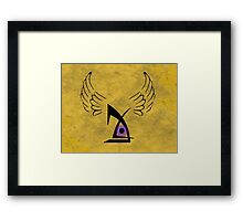deus ex human evolution  Framed Print