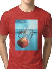 Apple Splash Tri-blend T-Shirt