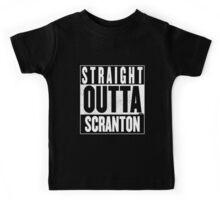 STRAIGHT OUTTA SCRANTON Kids Tee