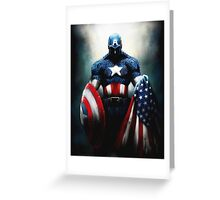 Captain America 3 Greeting Card