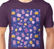 Christmas seamless pattern Unisex T-Shirt