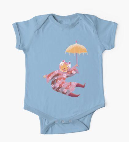 Magic Cat with Parasol Kids Clothes