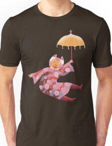 Magic Cat with Parasol T-Shirt