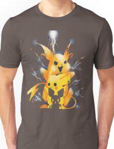 Pikachu - Raichu - Pichu - Pokemon Unisex T-Shirt