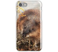 Hungry Hunting Muskrat iPhone Case/Skin