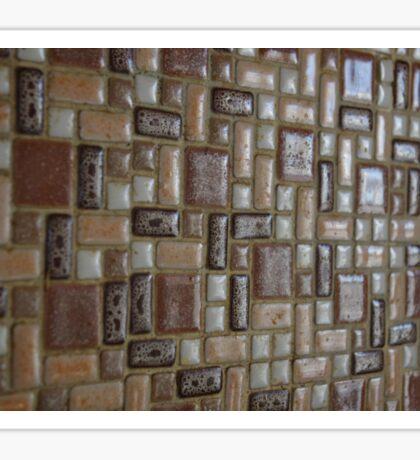 Brown Tile Sticker