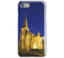 Night time church iPhone Case/Skin
