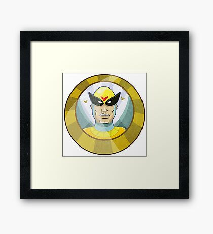 Birdman - Super Hero Framed Print