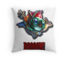 Ziggs - Boooom Throw Pillow