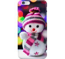 Snowman Toy iPhone Case/Skin