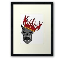 Dead King Framed Print