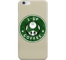 1-UP COFFEE iPhone Case/Skin
