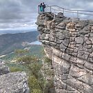 The Pinnacle Lookout, Grampians, Victoria by Adrian Paul