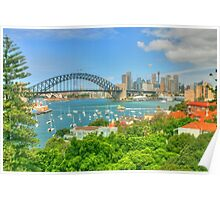 Sydney Harbour .. Sunday arvo .. HDR Poster
