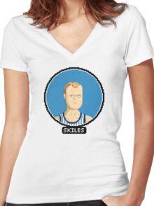 Scott Skiles - Magic Women's Fitted V-Neck T-Shirt