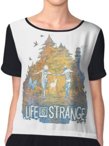 life is strange  Chiffon Top