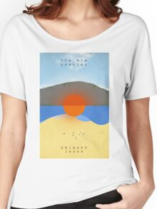 STN MTN Modified Text Women's Relaxed Fit T-Shirt