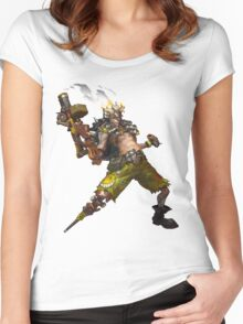 OVERWATCH JUNKRAT Women's Fitted Scoop T-Shirt