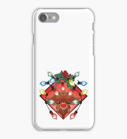 Unhappy Reindeer iPhone Case/Skin