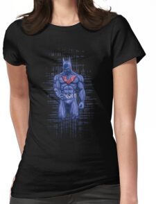 Glich Batman Beyond Womens Fitted T-Shirt