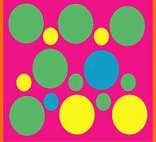 Funky Brights by ArtfulDoodler