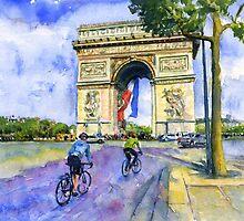 Arc De Triomphe by LifePortraits