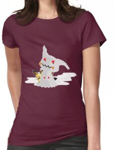 Pichu's Holiday Womens Fitted T-Shirt