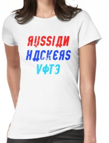 Russian Hackers Vote Womens Fitted T-Shirt