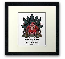 Merry & Happy Tshirt Framed Print