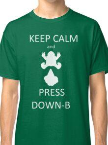 Wario DOWN-B Classic T-Shirt