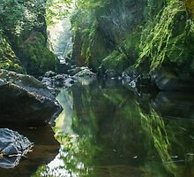 Wales - The Fairy Glen ,  Betws-y-Coed by Angie Latham