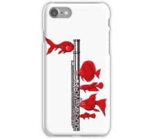 Fish and Flute iPhone Case/Skin