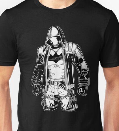 Red Hood- Black Arkham Unisex T-Shirt