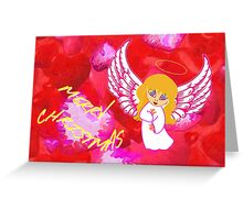 A Child Angel Christmas card Greeting Card
