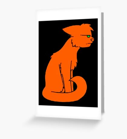Firestar is annoyed Greeting Card