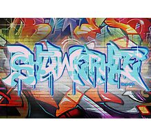 Skqwerkle - Full Colour | Graffiti Mural Photographic Print